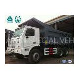 White Howo 6X4 High Efficiency Mining Dump Truck Front Tipping 371 HP