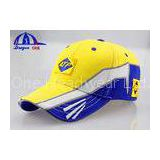 Fashion Heavy Brushed Cotton Embroidery Baseball Cap / Racing Hats for Girls and Boys