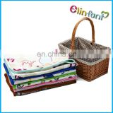 Suitable nicety woven home top quality baby minky blanket