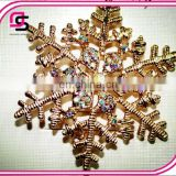 Professional Yiwu Factory Wholesale Rhinestone Crystal Brooch, Latest Fashion Brooch Pin 2015