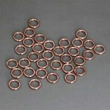 Good ductility Low-silver solder welding ring made in China