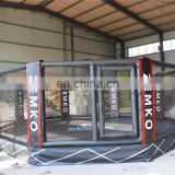 6x6x0.4 meter China manufacture mma octagon cage
