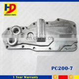 Stainless Steel Oil Cooler Cover For Engine PC200-7 Radiator Oil Cooler Cover 3923332