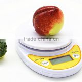 WH-B04 Small Elegant Cuisine Digital Kitchen Scale,Food scale with Removable Bowl, 11lb/5kg by 0.1g