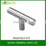 modern stainless steel one round bar handle with high quality