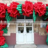 factory custom good quality new design Inflatable Flower Arch for ideal wedding decoration