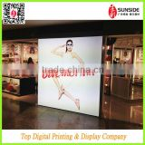Hot Sale PET Backlit Film / poster banner advertising