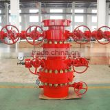 oil & gas wellhead and Christmas Tree for oil drilling meet API 6A with high qulity high pressure