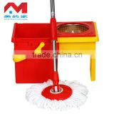 Easy life magic mop wholesale hurricane spin mop rotary mop stainless steel basket microfiber