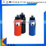creative soccer ball custom bpa free plastic water bottle/promotional plastic sports bottle