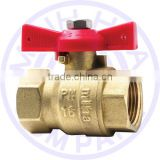 BRASS BALL VALVE BUTERFLY HANDLE FOR WATER SYSTEM FROM VIET NAM - MIHA BRAND