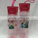 TF-Y02160703013 Frozen Fever Elsa Anna Sofia Avengers Travel Straw Water Bottle Drink Cup For Kids Children 2 sizes