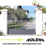 Made In China Front Wrought Iron Gate Design For House/Top Quality Newest Design Home Main Gate M