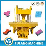 Automatic different type clay floor paving block ceramic brick roof tile making machine