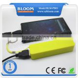 Newest high quality 18650 battery 2200mAh portable power bank , portable power bank for cell phone