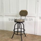 vintage metal high chair/bar chair