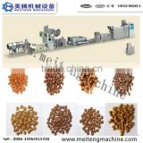 Automatic extruder animal pet food processing machines