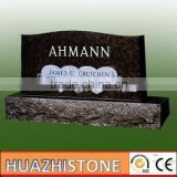 xiamen producer of 2 hearts granite tombstone and monuments on sale