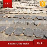 Natural Decorative Basalt Paving Stone Andesite Flying Stone
