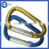 RoHS certificate high quality standard fast delivery Aluminum Quickdraw Carabiner wolesaler from China