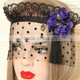 girl festival accessory hot selling Dance Veil mask Carnival Party favor products