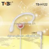 2014 oem odm single ear new colourful earhook earphones headphones headsets for mp3 mp4 pc computer laptop