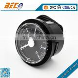 (YM-40D) 40mm cheap cost white pointer single C-tube versatile connection capillary pressure meter gauge