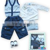 High Quality 100% Cotton Soft Wear Wholesale Baby Clothes Online