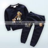 New Cotton Autumn Clothing Sets for Baby Boys and Cute Bear Top and Pants Sport Suits for children clothes