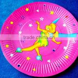 disposable paper plate,pizza paper plate, paper plate