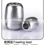 Wholesale trawling lead fishing net lead weights