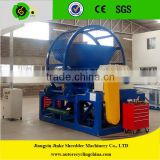 Waste tyre cutting machine/whole tyre cutter machine/tyre shredding machine