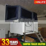 Hot Selling Camping Trailers Used With Storage Box and Canvas Tent