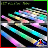 Colorful LED digital tube for decorating the building, 16 pixel IC Led Hurdle light,AC24V with high brightness