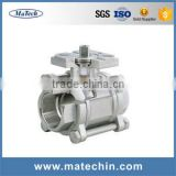 Originality China Gold Supplier Air Actuated 3 Way Ball Valve From Direct Factory