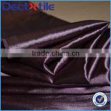 Shiny stretch fabric and 95 polyester 5 spandex satin stretch fabric                                                                         Quality Choice