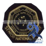 Bullion Hand Embroidered Blazer Badge Patch Insignia Emblem