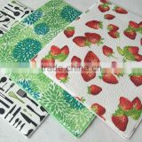 full printed microfiber dish drying mat for kitchen wholesale