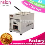 henny penny gas fryer for restaurant canteen hospital school kitchen equipment