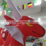 Hongyi Giant Red Inflatable Animal Cartoon Toy / Inflatable Cartoon Dragon With Best Price