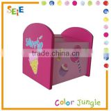 Wooden sweetie money storage box,lovely coin collection box,kids coin bank OEM
