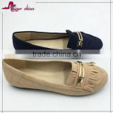 High Quality Soft Cute Slip-On Grey Lady Comfort Women Shoes                                                                         Quality Choice