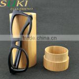 Black bamboo sun glasses with case sunglasses for 2015