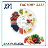 Easy to clean best choice for any kitchen and family clear plastic salad bowl