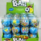 "Hot selling 3"" pu globe bouncing ball toy,foam bouncing ball toy,soft sport ball toy"