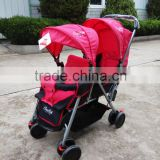 EN1888 CE Approved 2016 new good double baby stroller, twin tandem baby buggy