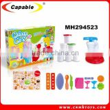 Children play color clay , educational 3D toys play dough Ice cream maker