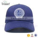 Baseball cap and hat for men printing logo curved brim metal back closure baseball caps for men