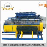 Famous brand chain link fence machine (single die double spiral 25mm*25mm twisted sides) made in China