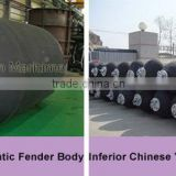 Yokohama type marine rubber fenders comply with ISO 17357,certificate by LR, ABS, CC.